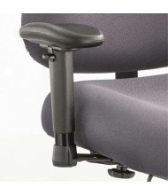 Safco 3591BL T-Pad Arms for Optimus Big & Tall Chairs Adjustable Height/Width