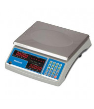 "Brecknell B140 60 lb. Portable Digital Coin & Parts Counting Scale, 11.5"" W x 8.75"" D Platform"