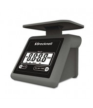 "Brecknell PS7 7 lb. Portable Digital Postal Scale, 5.6"" W x 5.2"" D Platform"