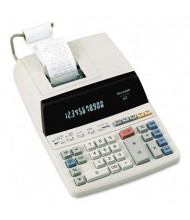 Sharp EL1197PIII Two-Color 12-Digit Printing Desktop Calculator