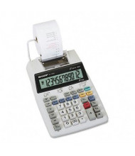 Sharp EL-1750V Two-Color 12-Digit Printing Calculator