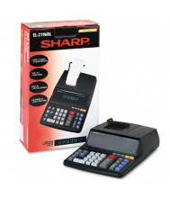 Sharp EL2196BL Two-Color 12-Digit Printing Calculator