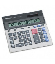 Sharp QS-2130 Compact 12-Digit Desktop Calculator