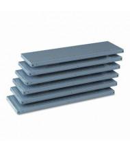 "Tennsco Q-Line 6Q23612MGY 36"" W x 12"" D Extra Steel Shelves"