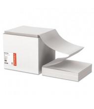 """Universal 9-1/2"""" x 11"""", 18lb, 2700-Sheets, Letter Trim Computer Printout Paper"""