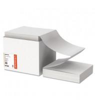 """Universal 9-1/2"""" x 11"""", 20lb, 2400-Sheets, Letter Trim Computer Printout Paper"""