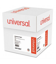 """Universal 9-1/2"""" x 11"""", 20lb, 2300-Sheets, Letter Trim Computer Printout Paper"""