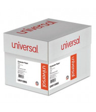 """Universal 14-7/8"""" x 11"""", 20lb, 2400-Sheets, Carbonless Computer Printout Paper"""