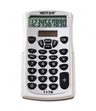 Victor 1170 10-Digit Handheld Business Calculator with Slide Case