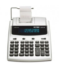 Victor 1225-3A Antimicrobial Two-Color 12-Digit Printing Calculator