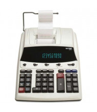 Victor 1230-4 Fluorescent Display Two-Color 12-Digit Printing Calculator