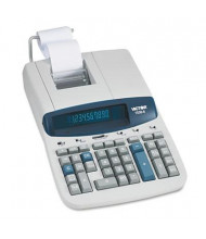 Victor 1530-6 Two-Color Commercial Ribbon 10-Digit Printing Calculator