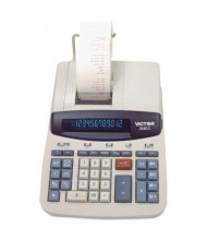 Victor 2640-2 Two-Color 12-Digit Printing Calculator