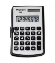 Victor 908 Portable 8-Digit Pocket/Handheld Calculator