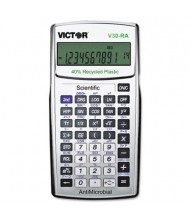 Victor V30RA Antimicrobial 10-Digit Recycled Scientific Calculator