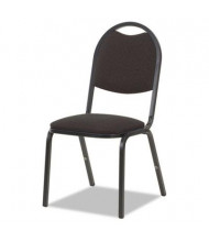 Virco 8917 Fabric Stacking Chair, 4-Pack