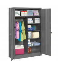 Tennsco Jumbo Combination Storage Cabinets (Medium Grey)