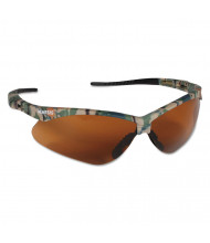 Jackson Safety Nemesis Safety Glasses, Camo Frame, Bronze Lens