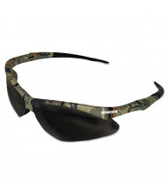 Jackson Safety Nemesis Safety Glasses, Camo Frame, Smoke Anti-Fog Lens