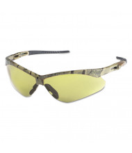 Jackson Safety Nemesis Safety Glasses, Camo Frame, Amber Anti-Fog Lens