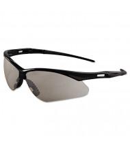Jackson Safety Nemesis Safety Glasses, Black Frame, Indoor/Outdoor Lens