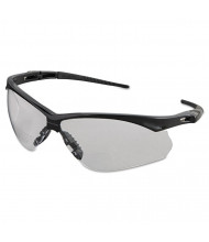 Jackson Safety V60 Nemesis Rx Reader Safety Glasses, Black Frame, Clear Lens