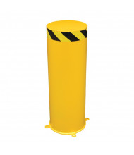 "Vestil 12"" Round Jumbo Steel Pipe Bollard Post (36"" model shown)"