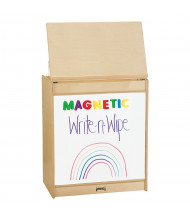 "Jonti-Craft 24"" W Write-n-Wipe Magnetic Dry Erase Big Book Easel"