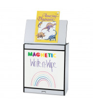 "Jonti-Craft Rainbow Accents 24"" W Write-n-Wipe Magnetic Dry Erase Mobile Big Book Easel (Shown in Black)"