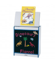 """Jonti-Craft Rainbow Accents 24"""" W Flannel Board Mobile Big Book Easel (Shown in Blue)"""