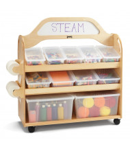 Jonti-Craft STEAM Double-Sided 11 Cubby Tray Classroom Storage