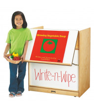 "Jonti-Craft 30"" W Write-n-Wipe Dry Erase Mobile Big Book Easel"