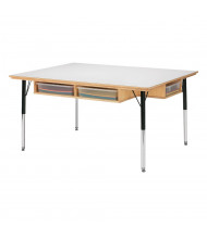 "Jonti-Craft 24"" to 31"" Adjustable Elementary School Table"