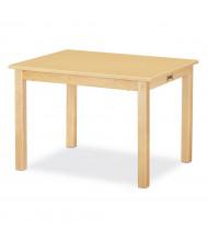"Jonti-Craft 30"" W x 24"" D Multi-Purpose Table (Shown in Maple)"