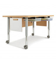 Jonti-Craft STEM Adjustable Mobile Workstation Table