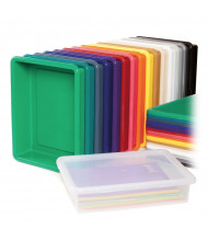 Jonti-Craft Plastic Paper Tray (different colors shown, lid sold separately)