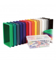 Jonti-Craft Plastic Cubbie Tray (different colors shown, lid sold separately)