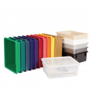 Jonti-Craft Plastic Tub Tray (shown in different colors, lid sold separately)