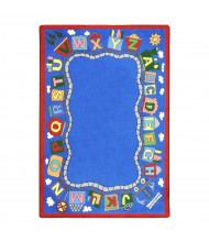 Joy Carpets Reading Train Classroom Rug