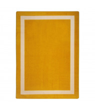 Joy Carpets Portrait Classroom Rug, Goldenrod