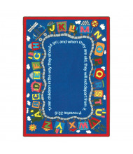 Joy Carpets Bible Train Classroom Rug