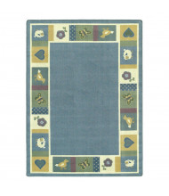 Joy Carpets Baby Blues Classroom Rug