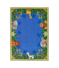 Joy Carpets Jungle Friends Classroom Rug