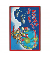 Joy Carpets Books Can Take You Anywhere Classroom Rug