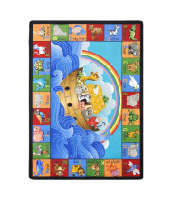 Joy Carpets Noah Alphabet Animals Classroom Rug
