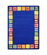 Joy Carpets Blocks of Love Classroom Rug