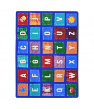Joy Carpets Alphabet Upcycle Classroom Rug