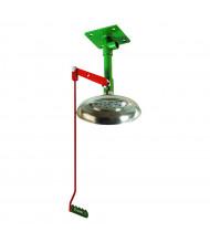 Justrite Galvanized Steel Pipe Drench Shower, Ceiling Mount