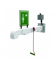 Justrite Freeze Protected Drench Showers, Wall Mount