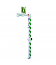 Justrite Freeze Protected Drench Showers, Floor Mount
